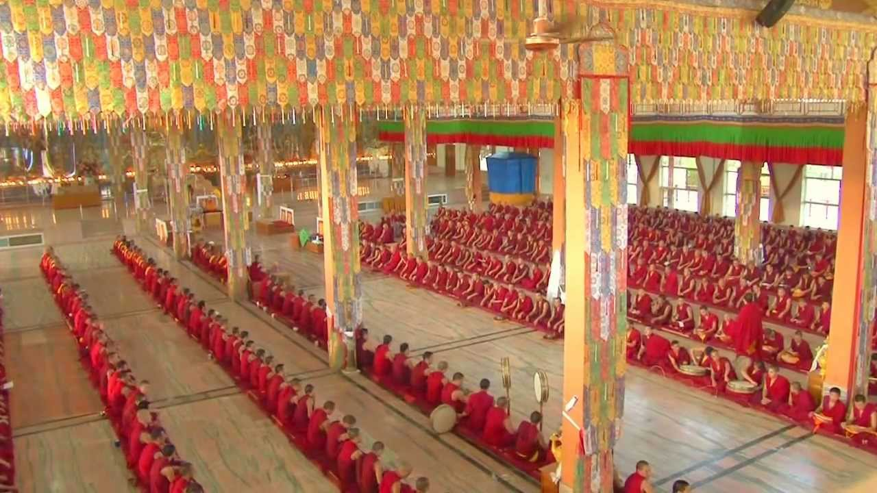 Gaden Jangtse Monastery..