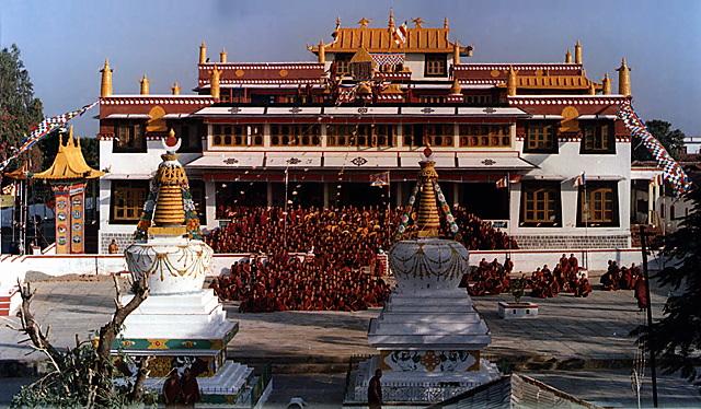 Gaden Tehor Khangtsen Monks' visit: April 9.