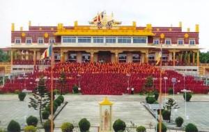 Divination for Gaden Jangtse Monastery.