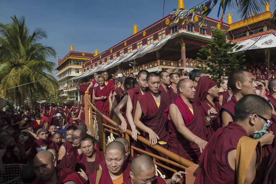 Third Day of LamRim Teachings at Ganden Jangtse Monastery.