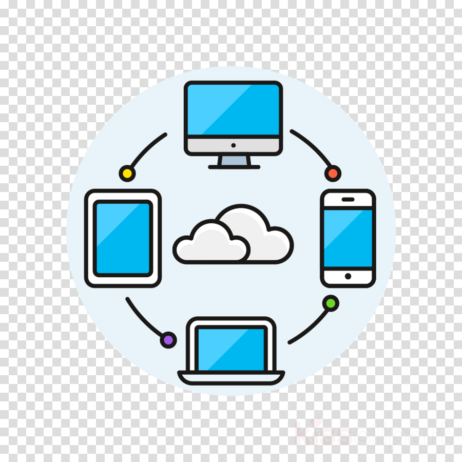 technology electronic device line gadget icon clipart.