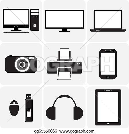 Gadgets Clip Art.