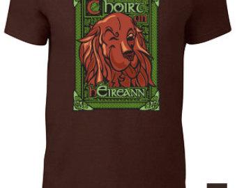 Irish setter t shirt.
