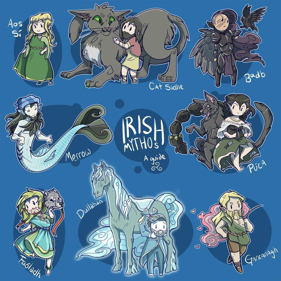 Irish Mythos~ by Galefaux on DeviantArt.