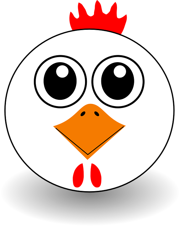 Free vector graphic: Chicken, Hen, Rooster, Chick.