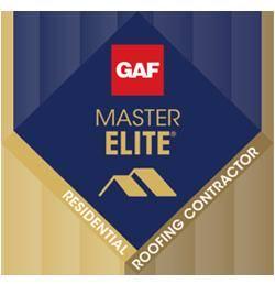 GAF Master Elite Certified Roofer and The Golden Pledge.