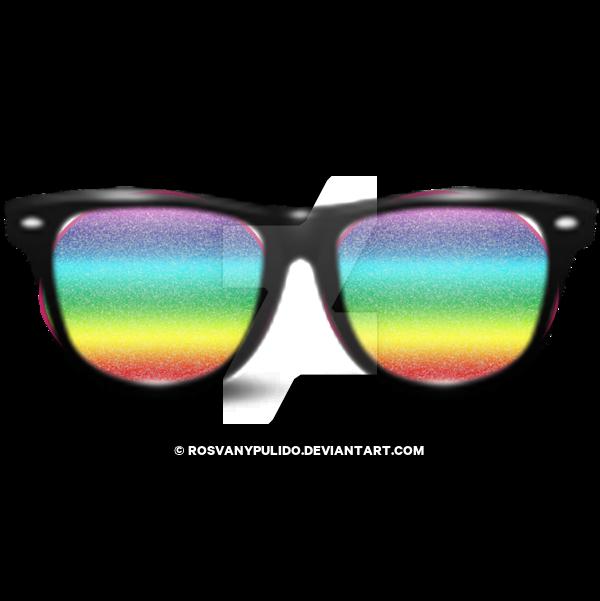 Gafas de sol arcoiris png by rosvanypulido on DeviantArt.