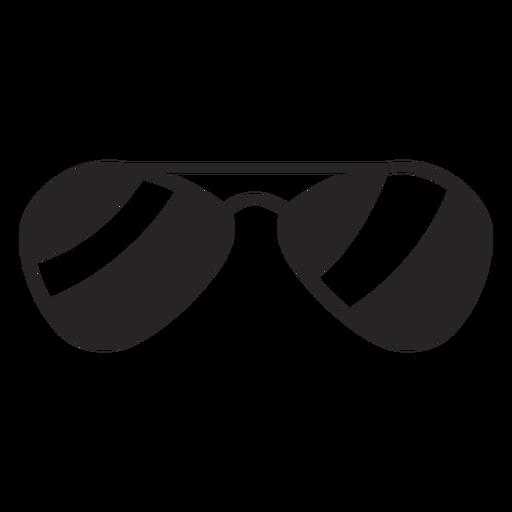 Silueta de gafas de sol.