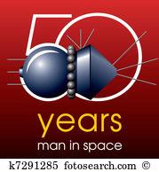 Gagarin Clip Art EPS Images. 18 gagarin clipart vector.