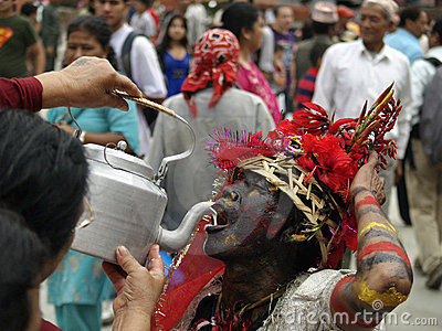 The Colour Run 2014 In Kathmandu Editorial Image.