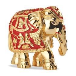 Gold Plated Gajantlaxmi.