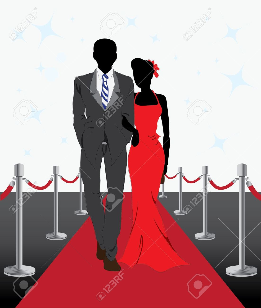 Gala event clipart.