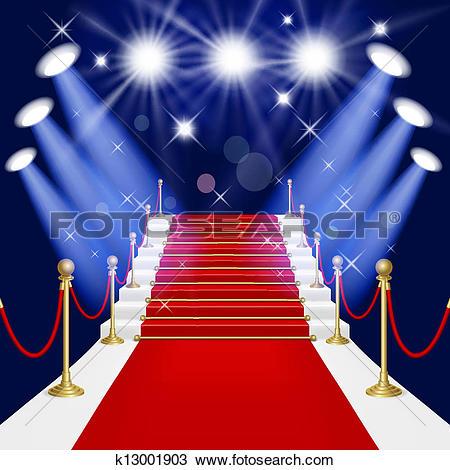 Stock Illustration of Red Carpet k1054575.