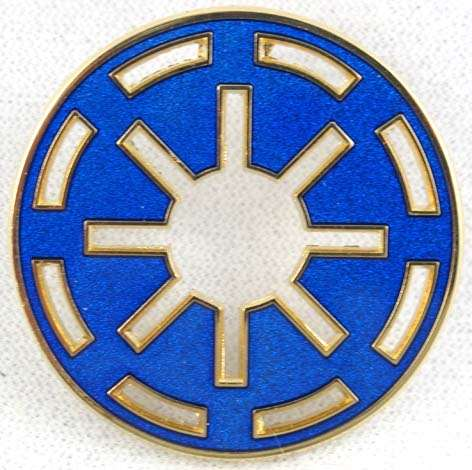 Star Wars Disney Galactic Republic Logo Pin.