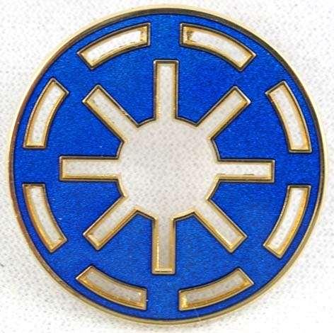Star Wars Disney Galactic Republic Logo Pin.
