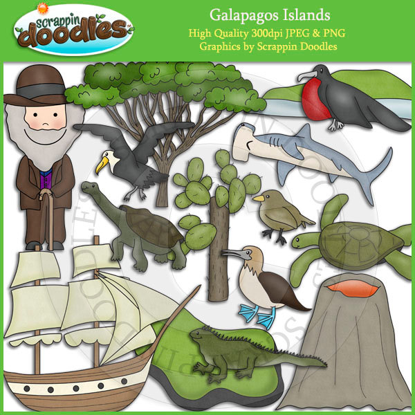 Galapagos Islands Clip Art Download.