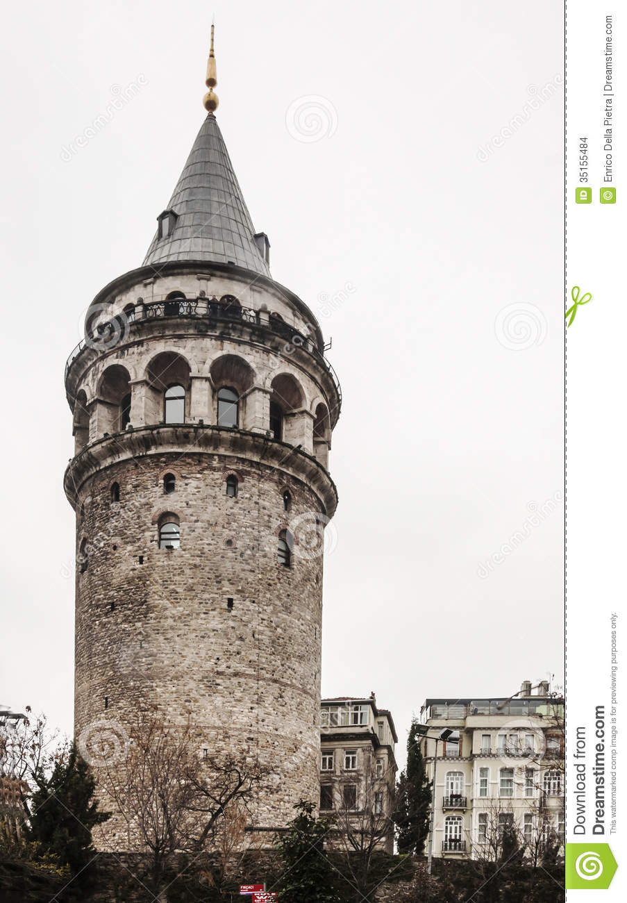 Istanbul Tower Stock Images.