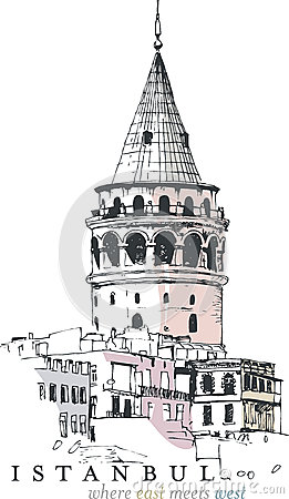 Galata Stock Illustrations.