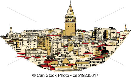 Galata tower Illustrations and Clipart. 83 Galata tower royalty.
