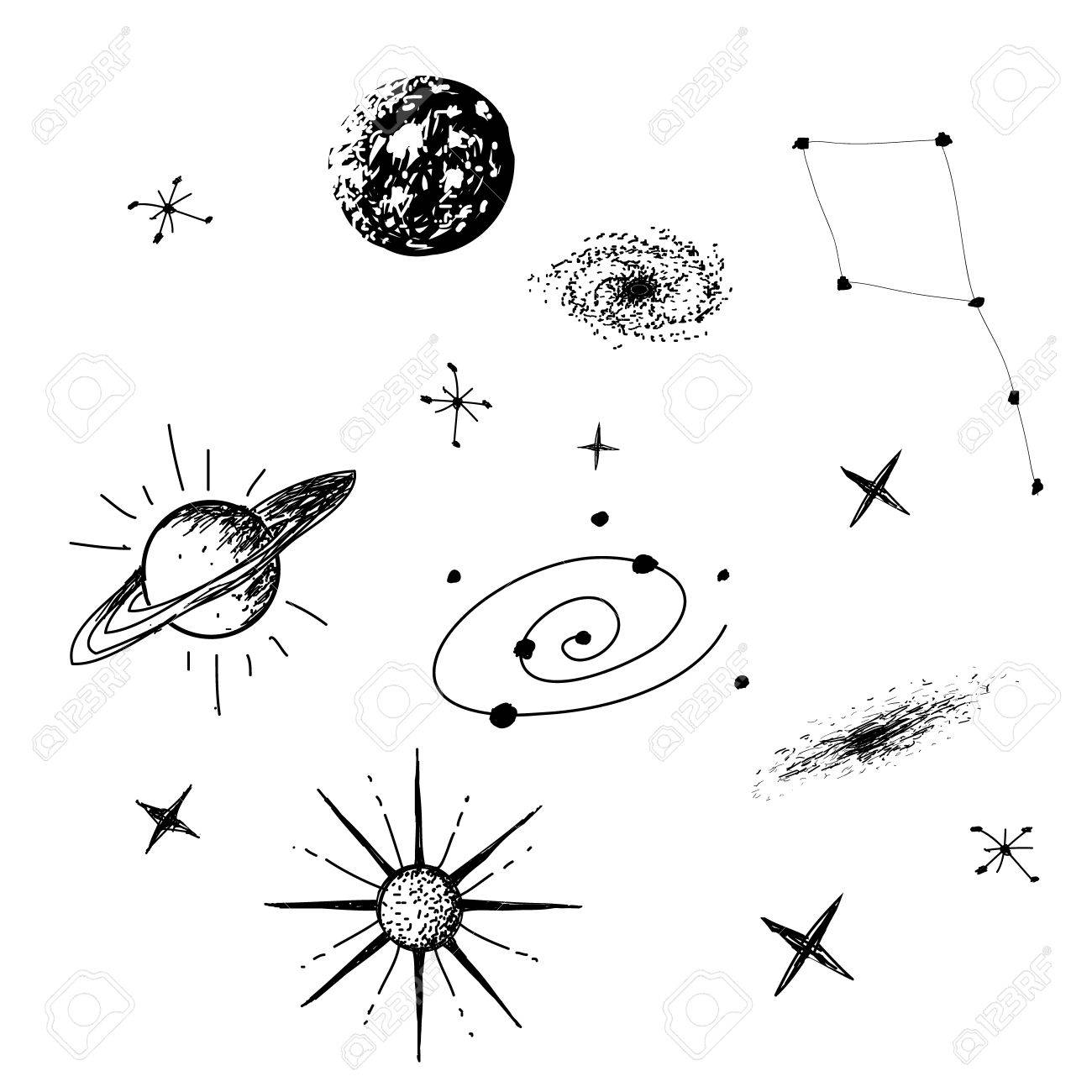Galaxy Clipart Black And White (82+ images in Collection) Page 1.