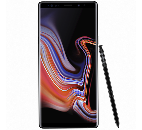 SAMSUNG GALAXY NOTE 9 DUAL SIM, black, 128gb.