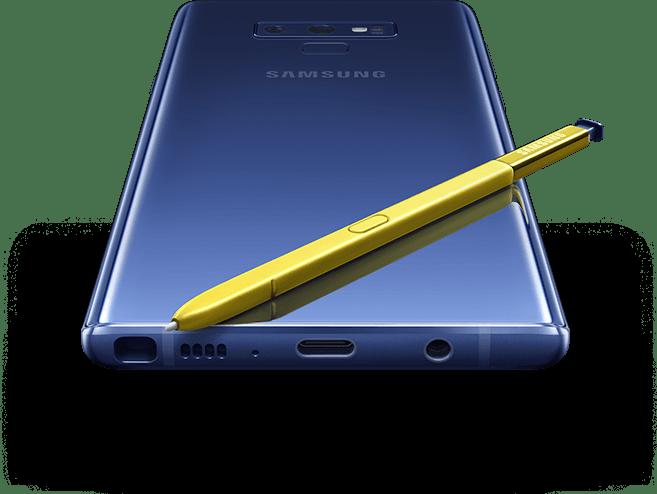 Samsung Galaxy Note9.