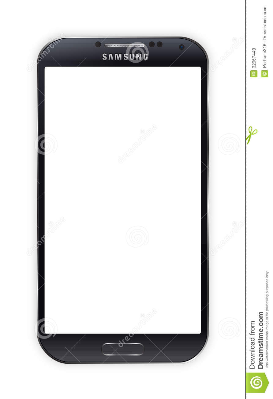 Galaxy s hd clipart.