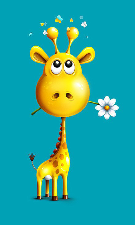 girafa giraffe wallpaper case samsung galaxy S advance s2 s3 mini.