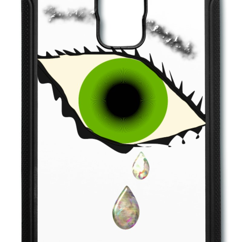 Busyhandz tear drops samsung galaxy S5 rubber case Samsung Galaxy.