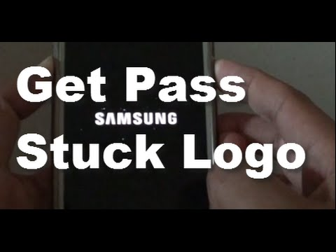 Samsung Galaxy S5: What to Do When You are Stuck at Bootup Samsung Logo.