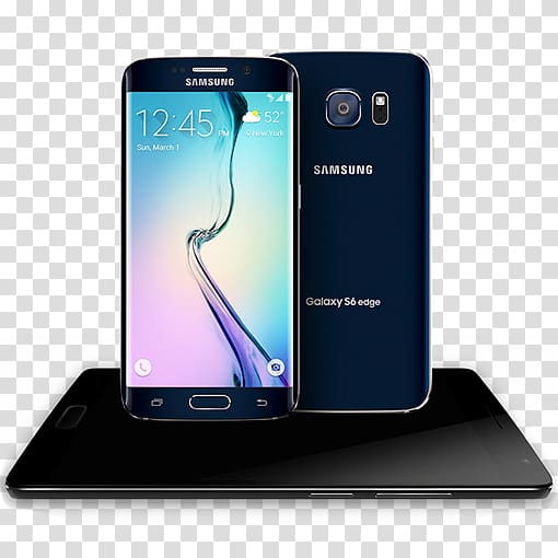 Samsung Galaxy S6 Edge Telephone LTE, others transparent.