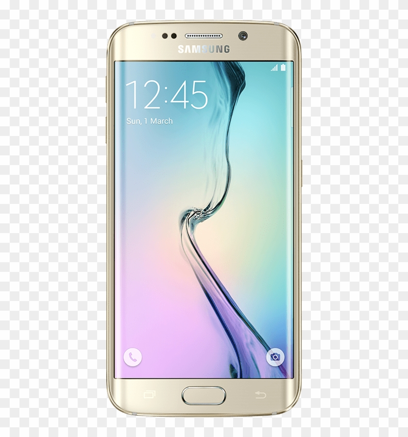 Front View Of Galaxy S6 Edge.
