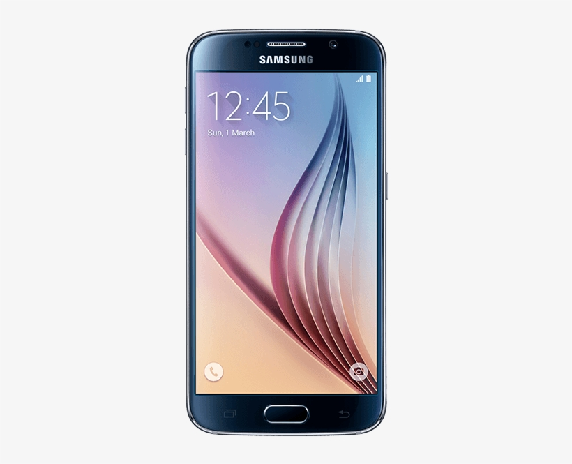 Samsung Galaxy S6 Transparent PNG.