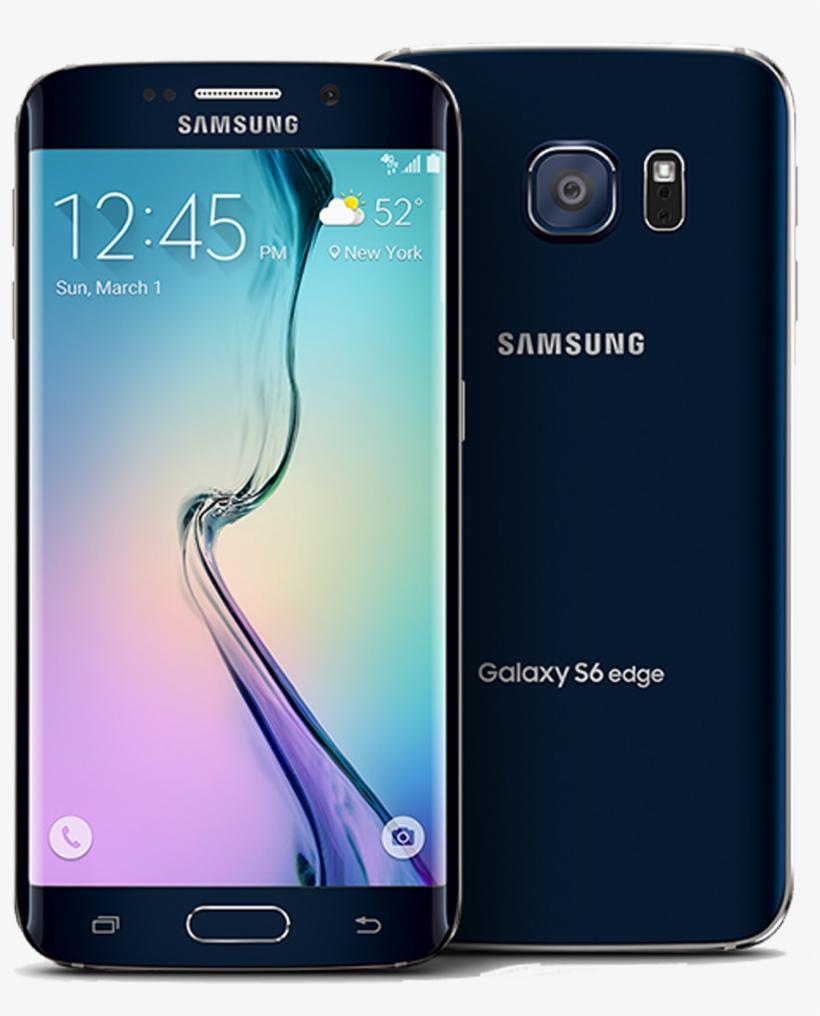 Samsung Galaxy S6 Edge Transparent PNG.