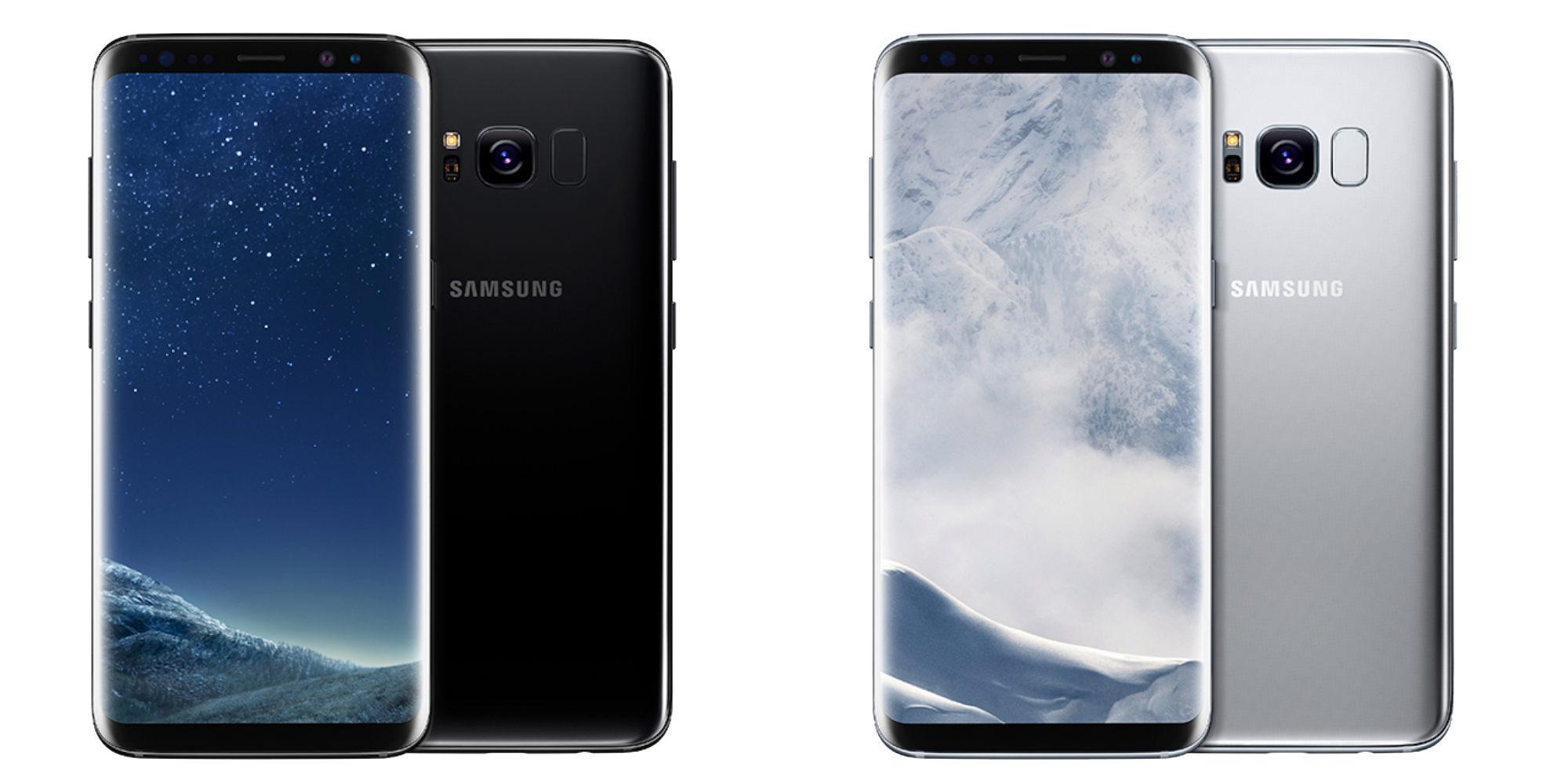 Galaxy S8 Plus Mobile Png Transparent Background.