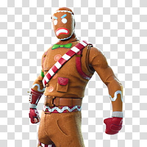 Blue and brown robot character, Fortnite Battle Royale.