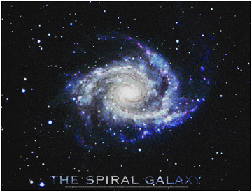 Types of Two Spiral Galaxies.