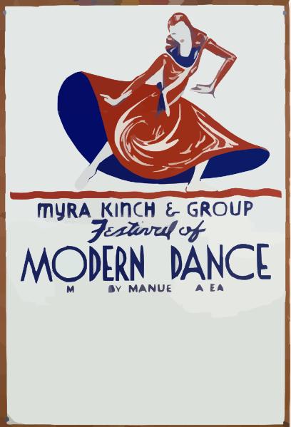 Festival Of Modern Dance.