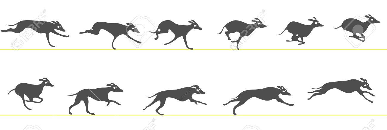 Banjara greyhound clipart.