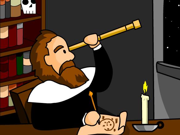 Time Zone X: Galileo Galilei.