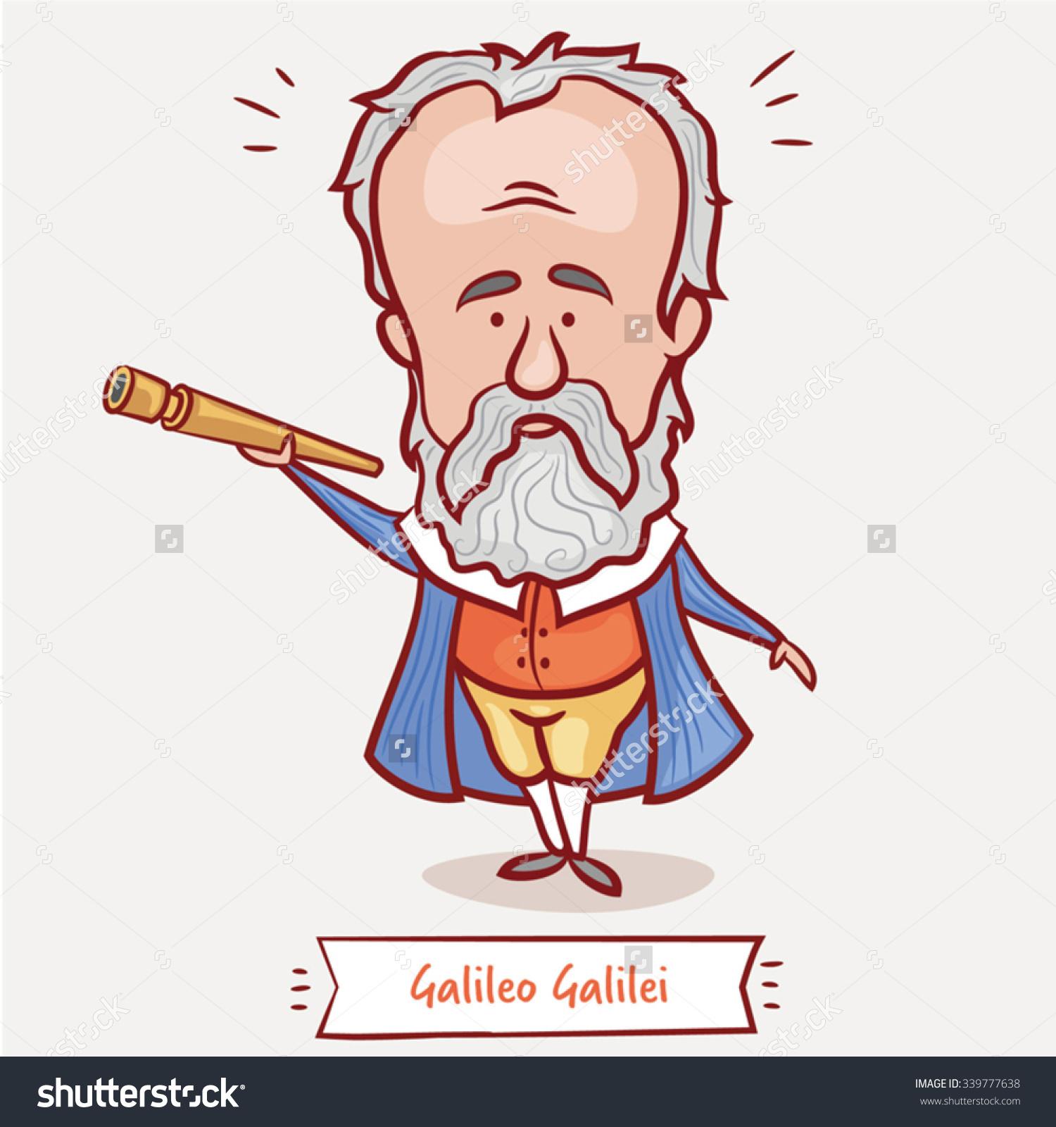 Galileo Galilei Clip Art.