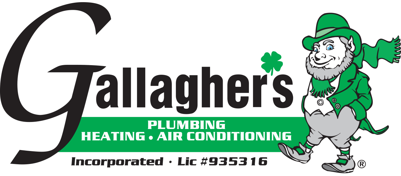 Gallagher's Plumbing, Heating & Air Conditioning Experts.