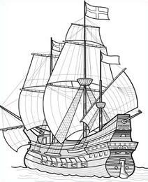 Free Galleon Clipart.