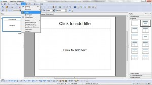 How to Add Clipart to Open Office.