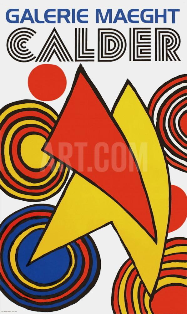 Galerie Maeght, 1973 Collectable Print by Alexander Calder at Art.com.