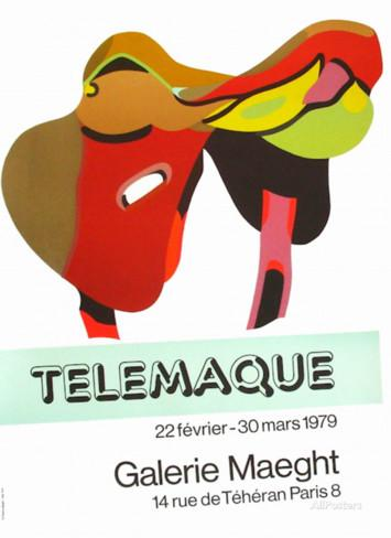 Expo Galerie Maeght 79 Collectable Print by Herve Telemaque at.