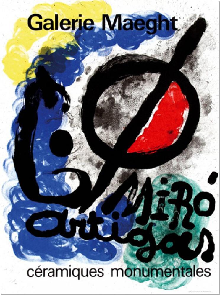 Joan Miró: Galerie Maeght, 1963.