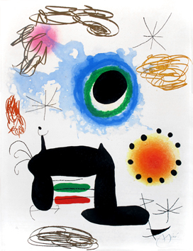 See and discover prints and works by Miro Joan.