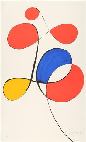 Ausstellung in der Galerie Maeght in Zürich by Alexander Calder on.