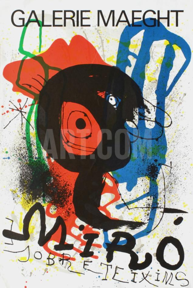 Galerie Maeght Collectable Print by Joan Miró at Art.com.